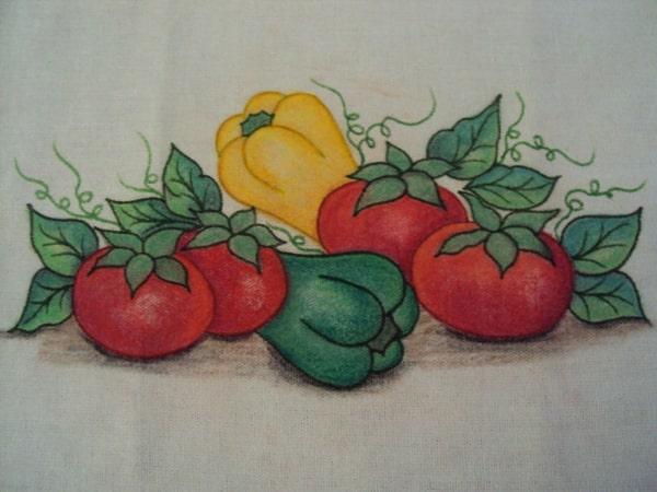 pintura com giz de cera pano de prato