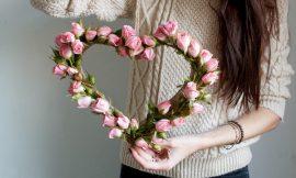 Como Fazer Coração de Flores: 15 Ideias