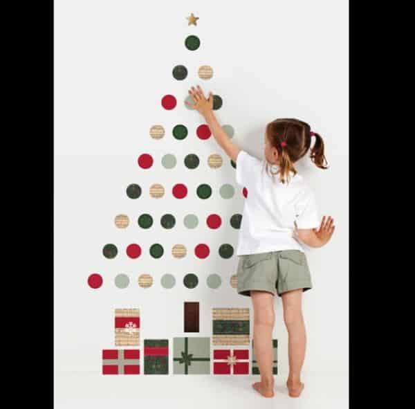 mural de Natal para escola contact
