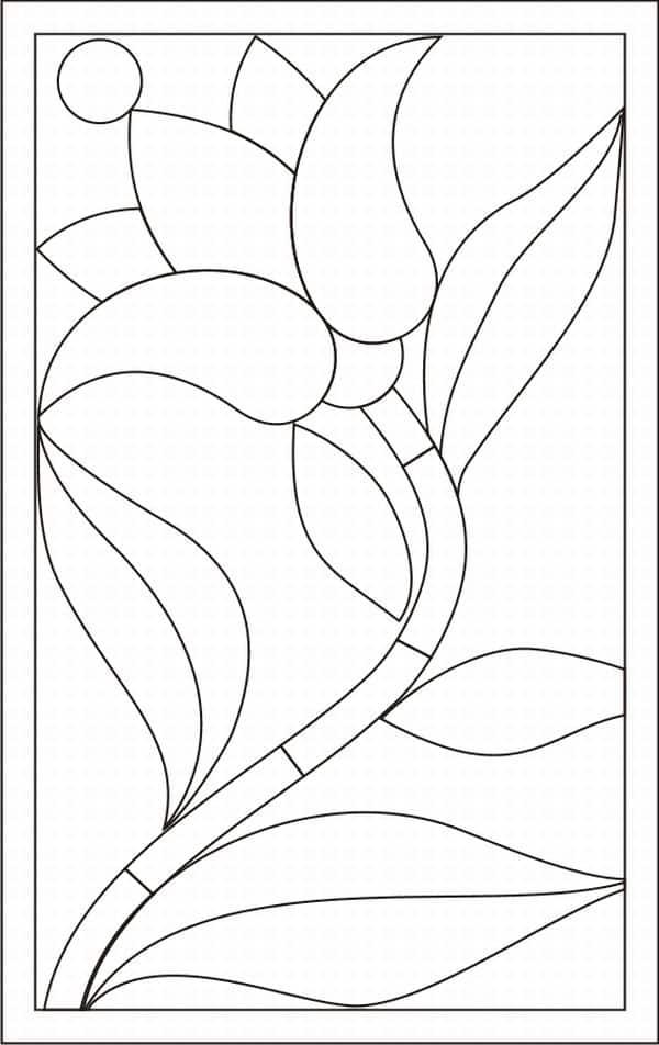 molde mosaico de papel