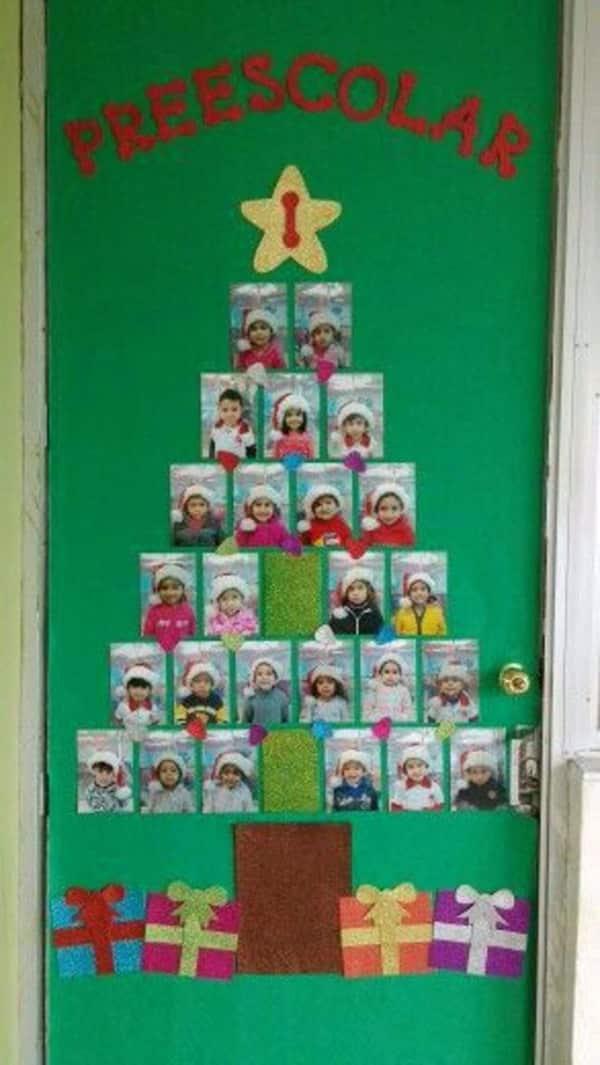 mural de Natal para escola fotos