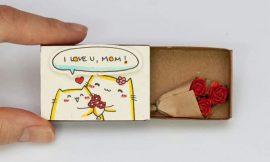 Artesanato com Caixa de Fósforo: 30 Ideias