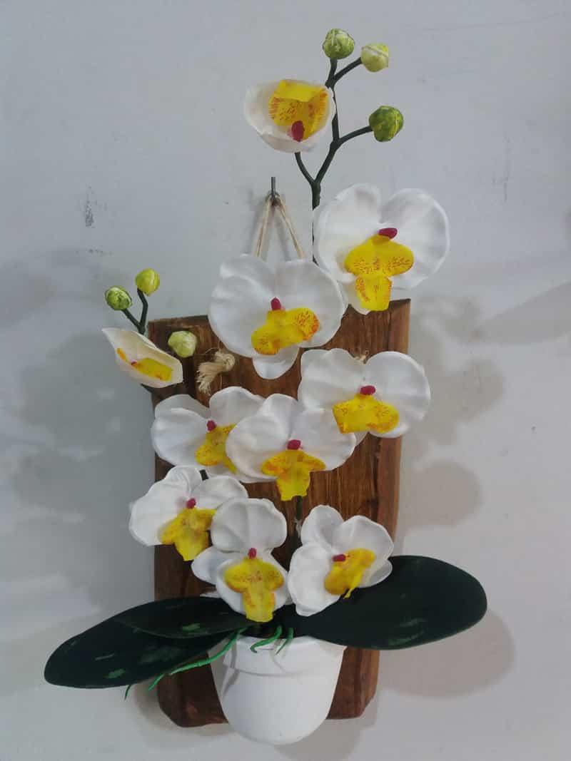 enfeite de varanda orquidea