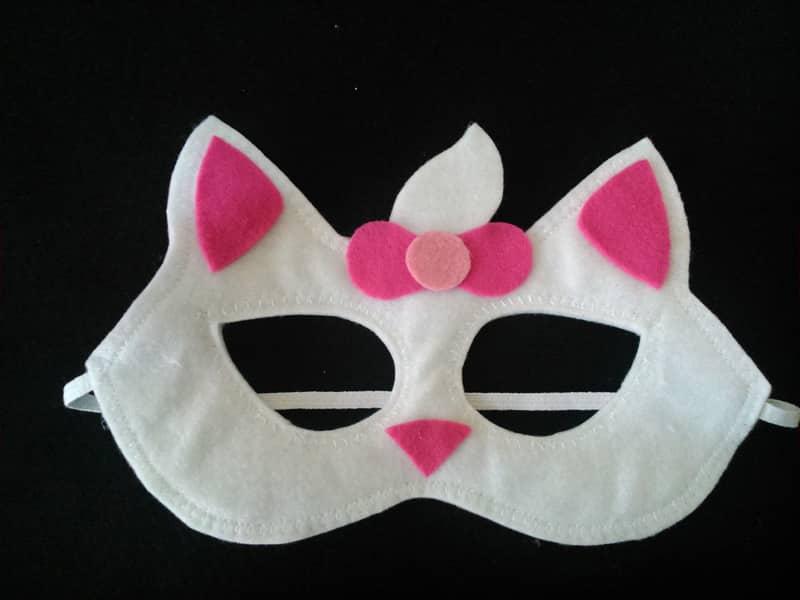 mascara de carnaval gatinha