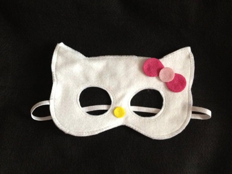 mascara de carnaval feltro