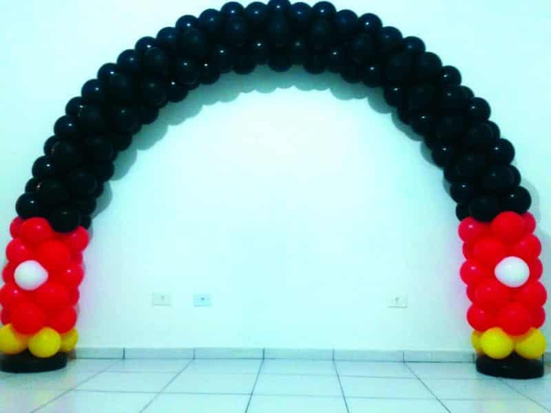 arco de baloes facil