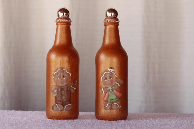 garrafa metalizada