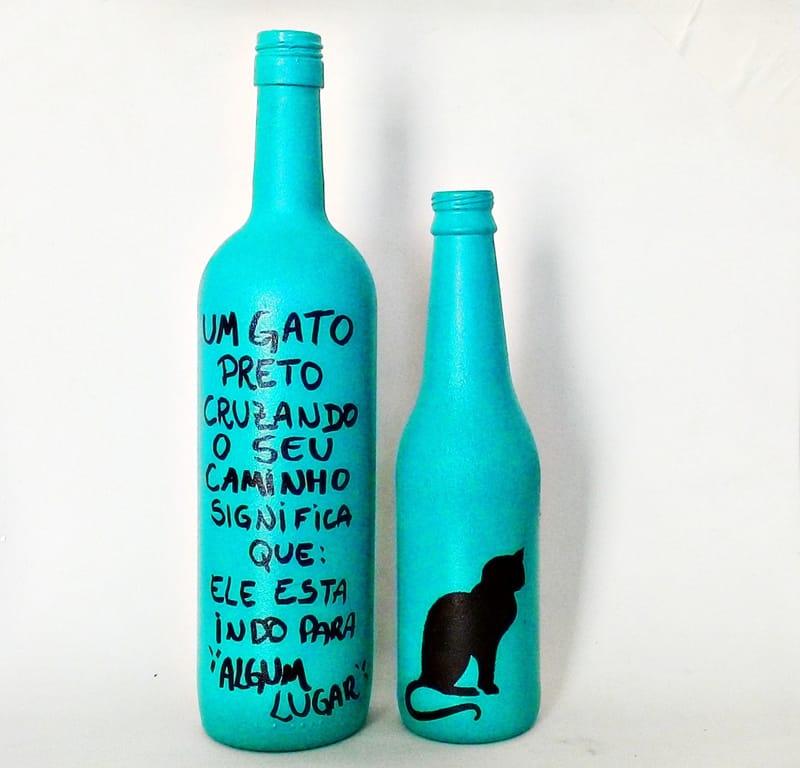 garrafa gato
