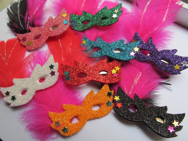tutorial mascara de carnaval