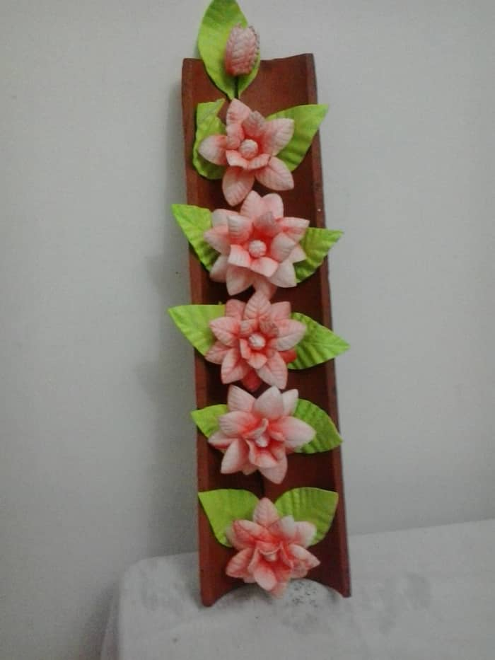 flor de eva no quadro