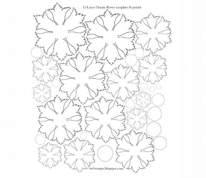flor de eva moldes