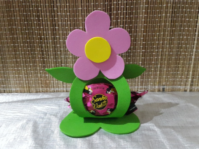 flor de eva porta bombom