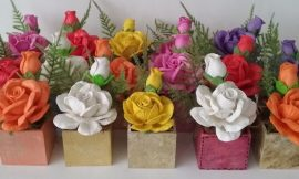 Flores de EVA: Molde e Como Fazer