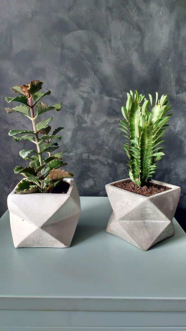 vaso de cimento diferente