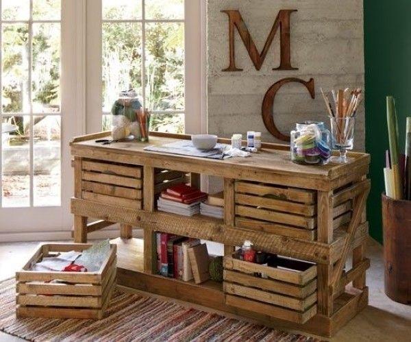 armario com caixotes