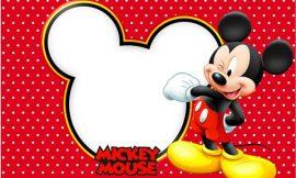 Convite do Mickey Mouse: Modelos para Imprimir e Editar, Como Fazer