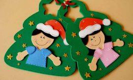 Lembrancinhas de Natal em EVA para Educação Infantil