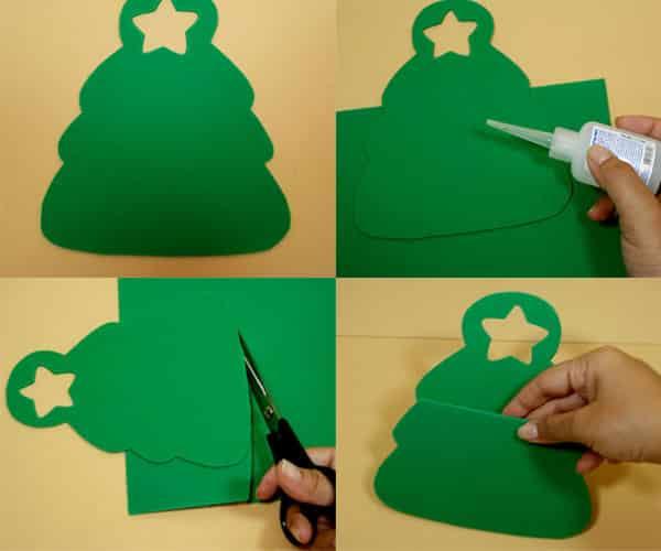 Lembrancinhas de natal em EVA tutorial árvore