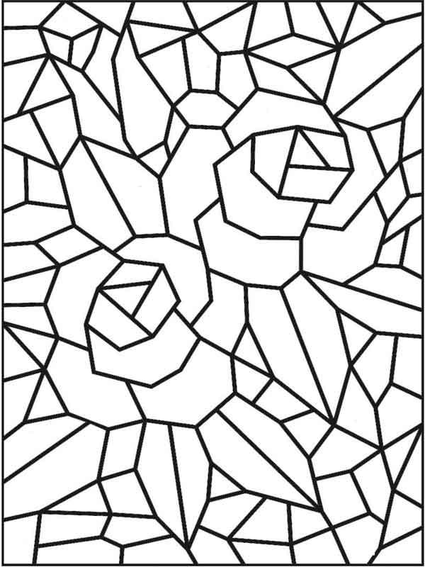 Mosaico pontilhismo