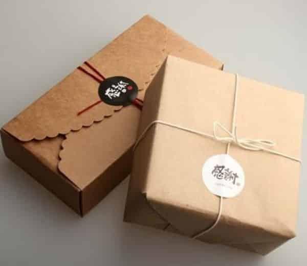 caixa papel craft