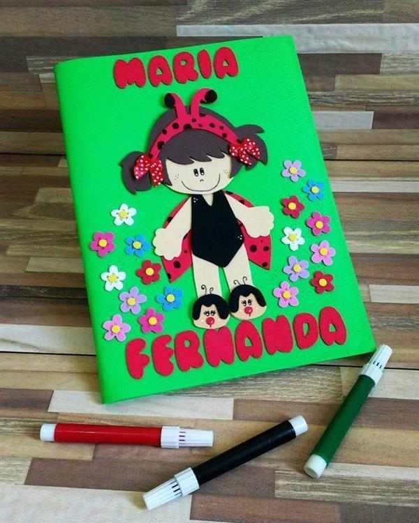 capa para caderno