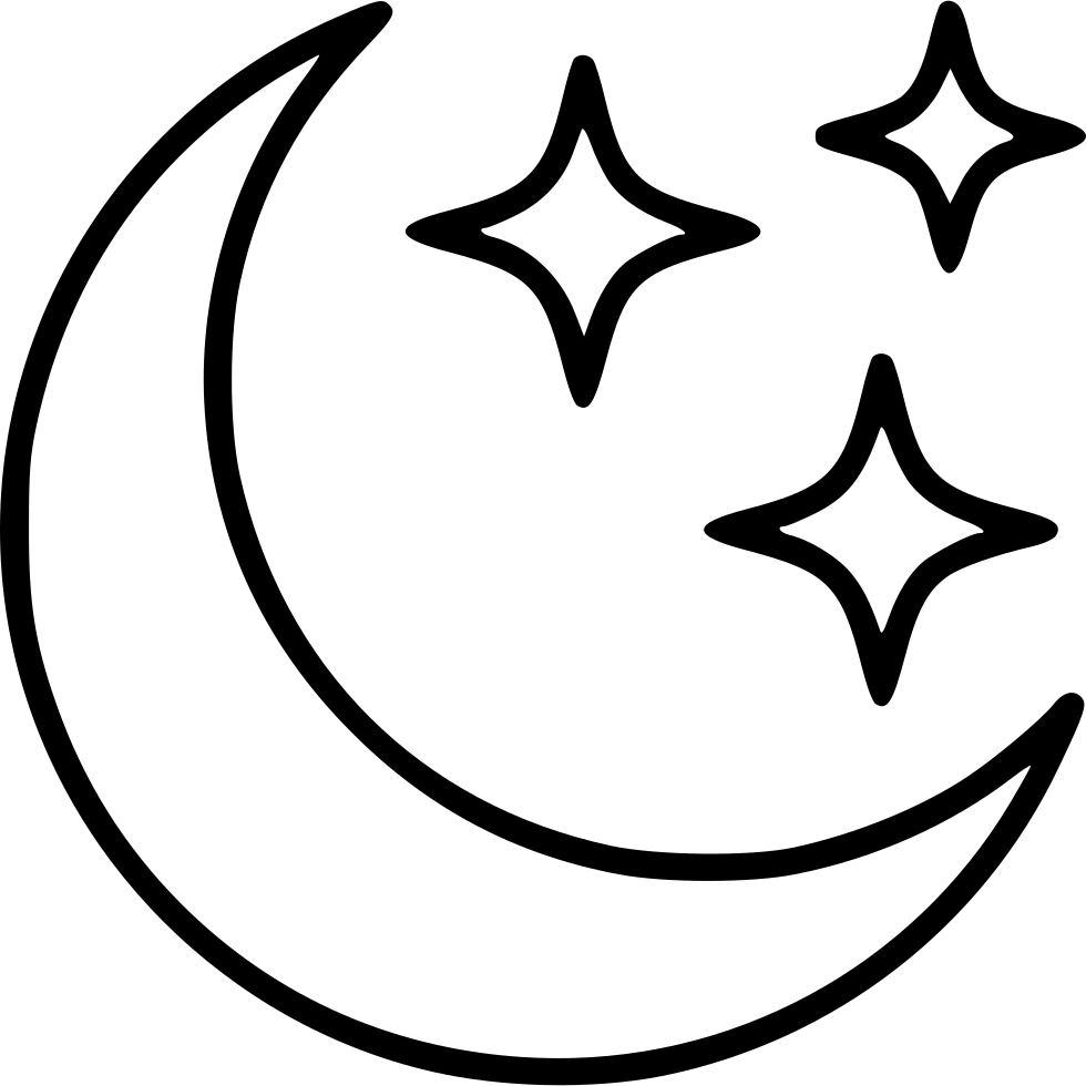 molde lua e estrelas