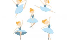 Molde de Bailarina para Imprimir: 14 modelos grátis