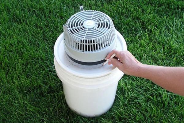 ar condicionado caseiro com ceramica