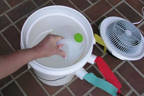ar condicionado caseiro com cooler de pc