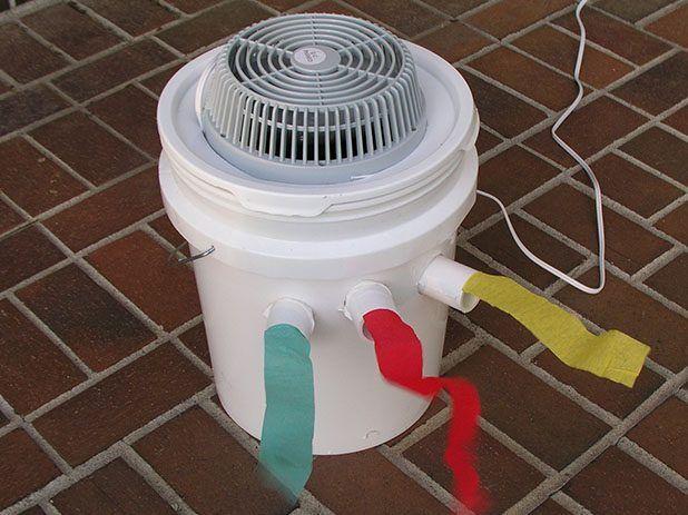 ar condicionado caseiro