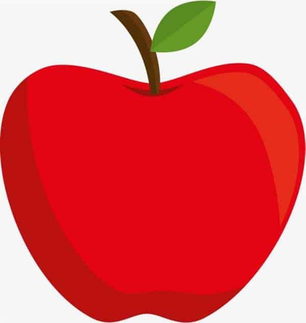 molde de maçã