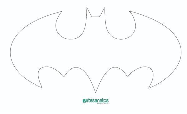 molde de morcego batman
