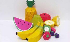 Molde de Frutas para Imprimir: 19 desenhos