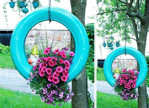 vaso de pneu de carro