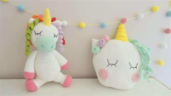 unicornio de croche