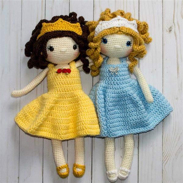 como fazer bonecas de crochê