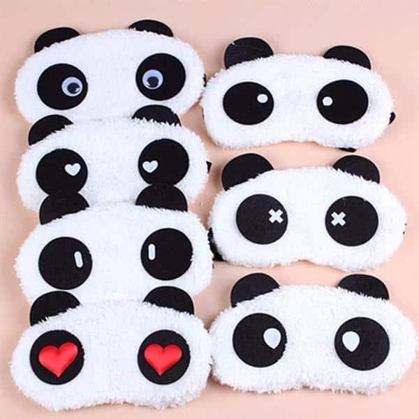 tapa olho para dormir panda