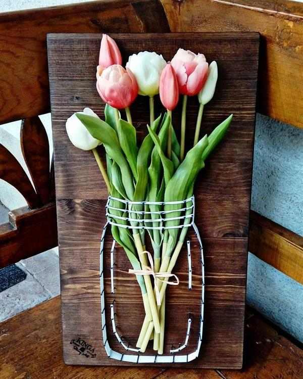 lembrancinhas dia das mães flores