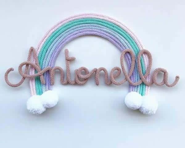 arco iris para decoração