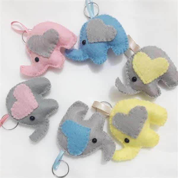 lembrancinhas de chá de bebê tema elefantinho