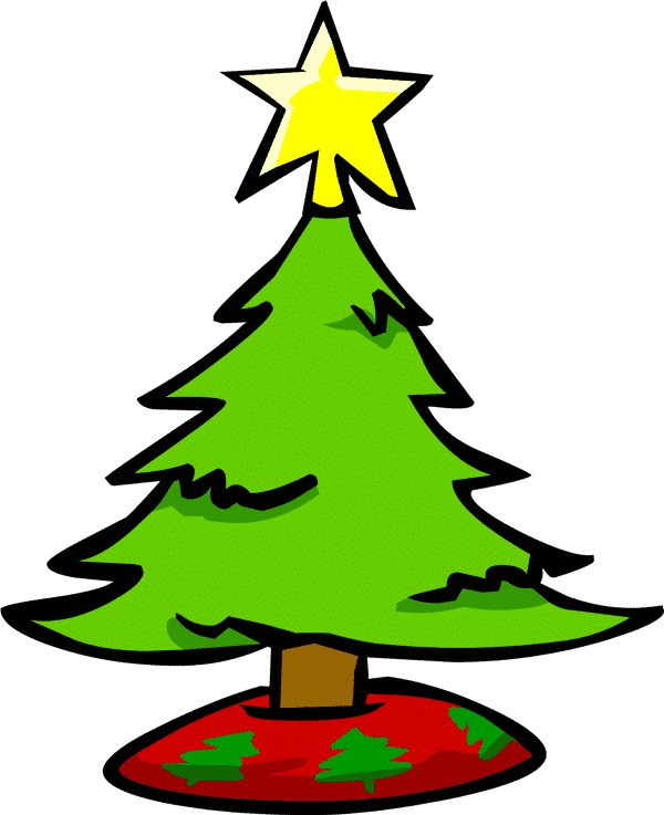 arvore de natal colorida