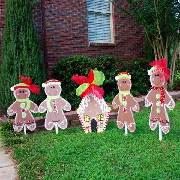 decoração de natal para quintal