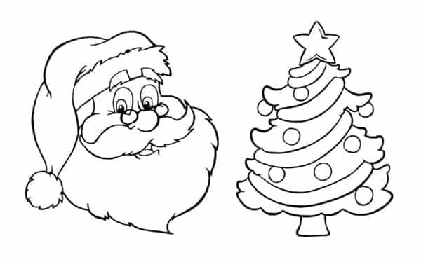 Read more about the article Desenhos de Natal para colorir e coloridos para imprimir
