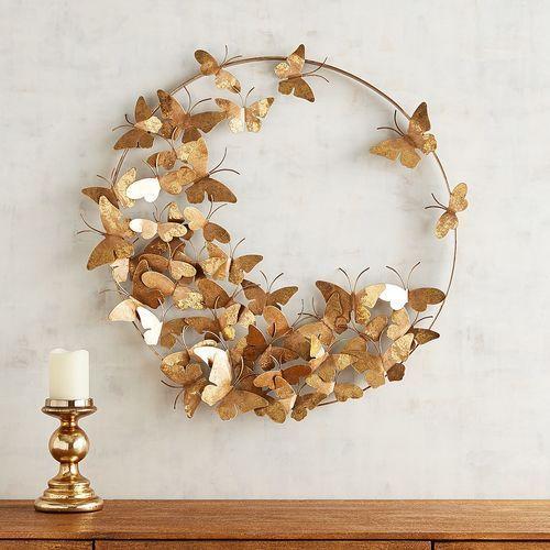 decoração com borboletas