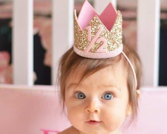 como fazer coroa de bebe