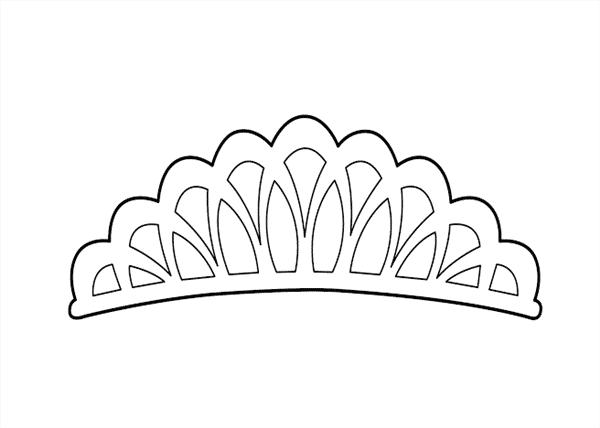 molde de coroa de princesa