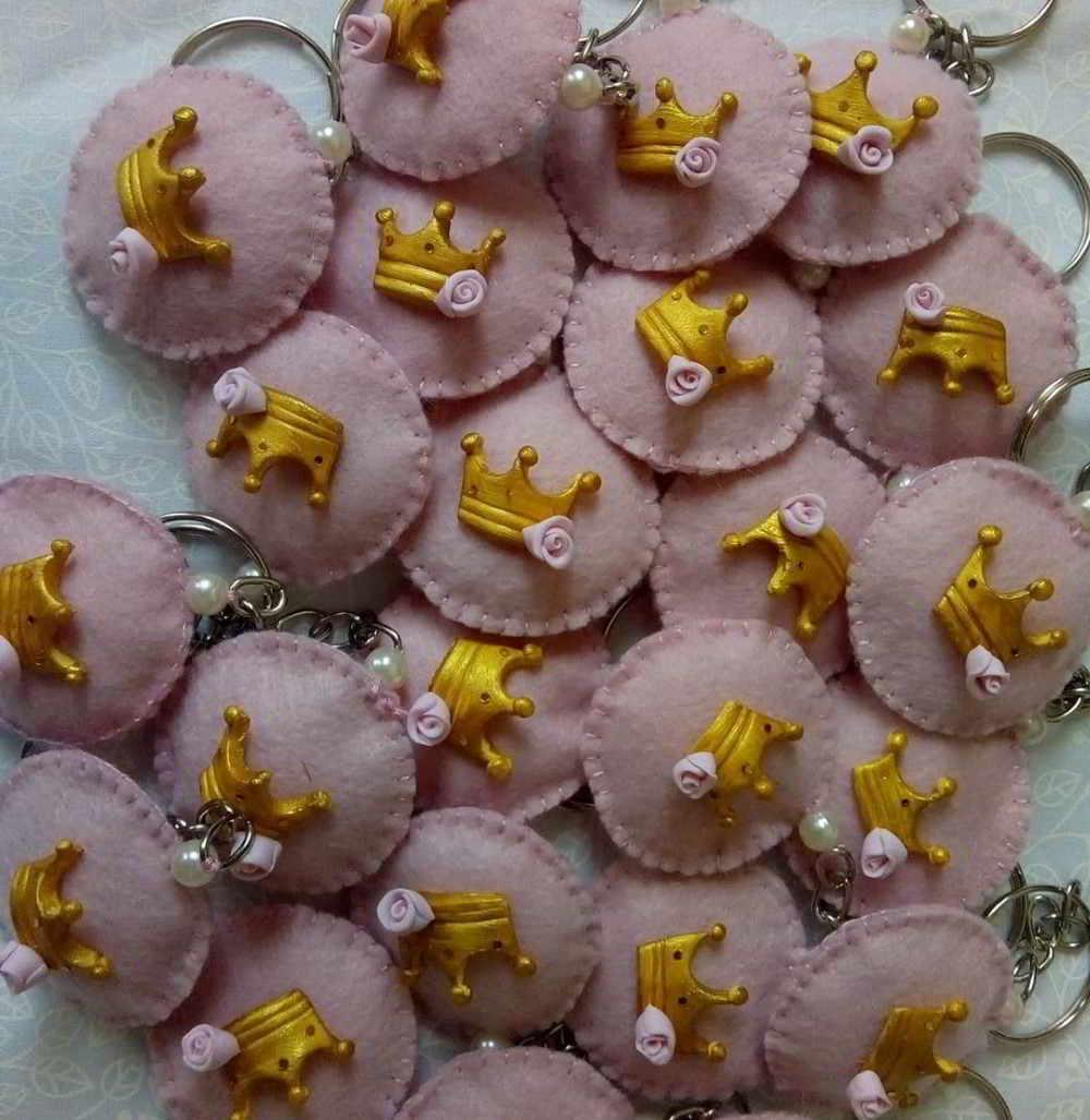 coroas de feltro