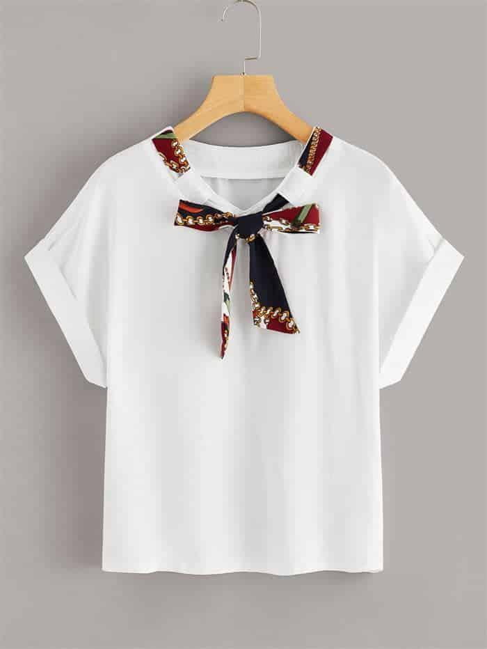 customizar camisetas com fitas