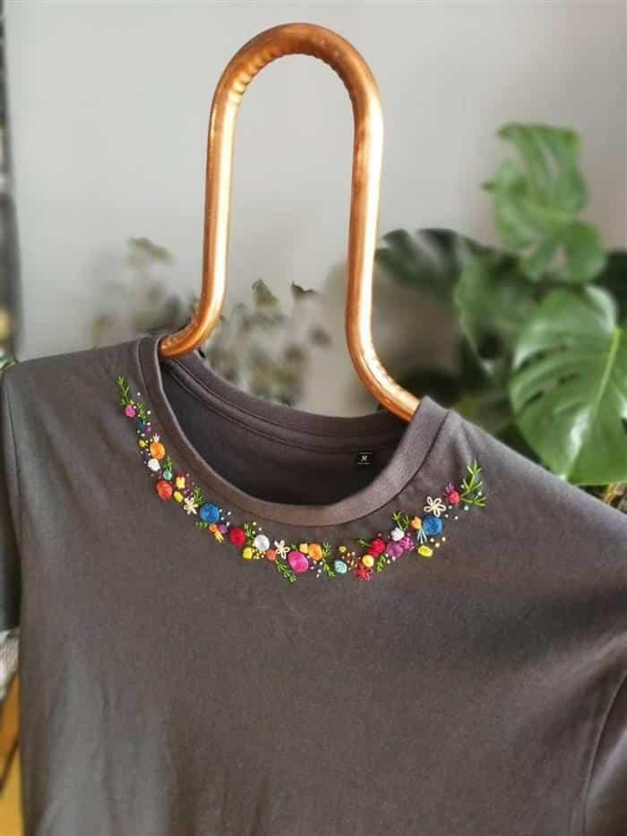 customizar gola de camisetas
