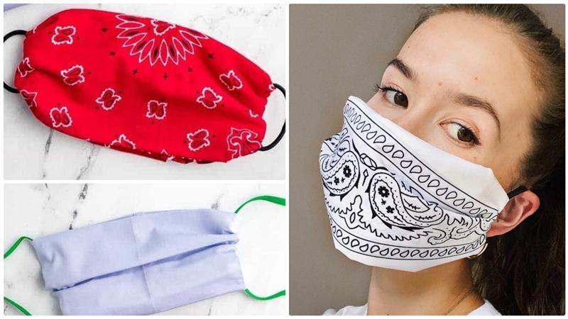 You are currently viewing Como fazer máscara sem costura: modelos de pano, TNT e perfex